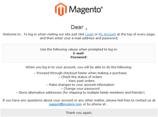 magento how to change email logo