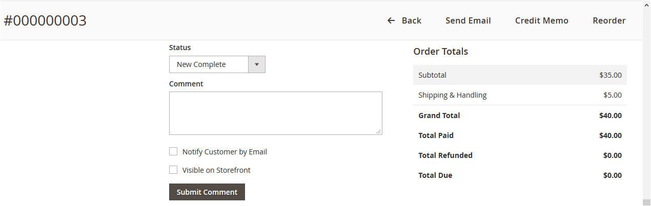 magento2 how to send order status change email programmatically