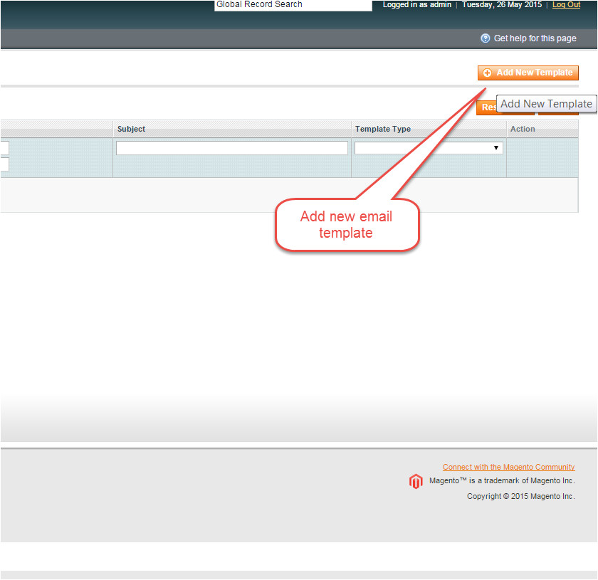Magento Send Email with Custom Template How to Create and Change Custom Email Templates In Magento