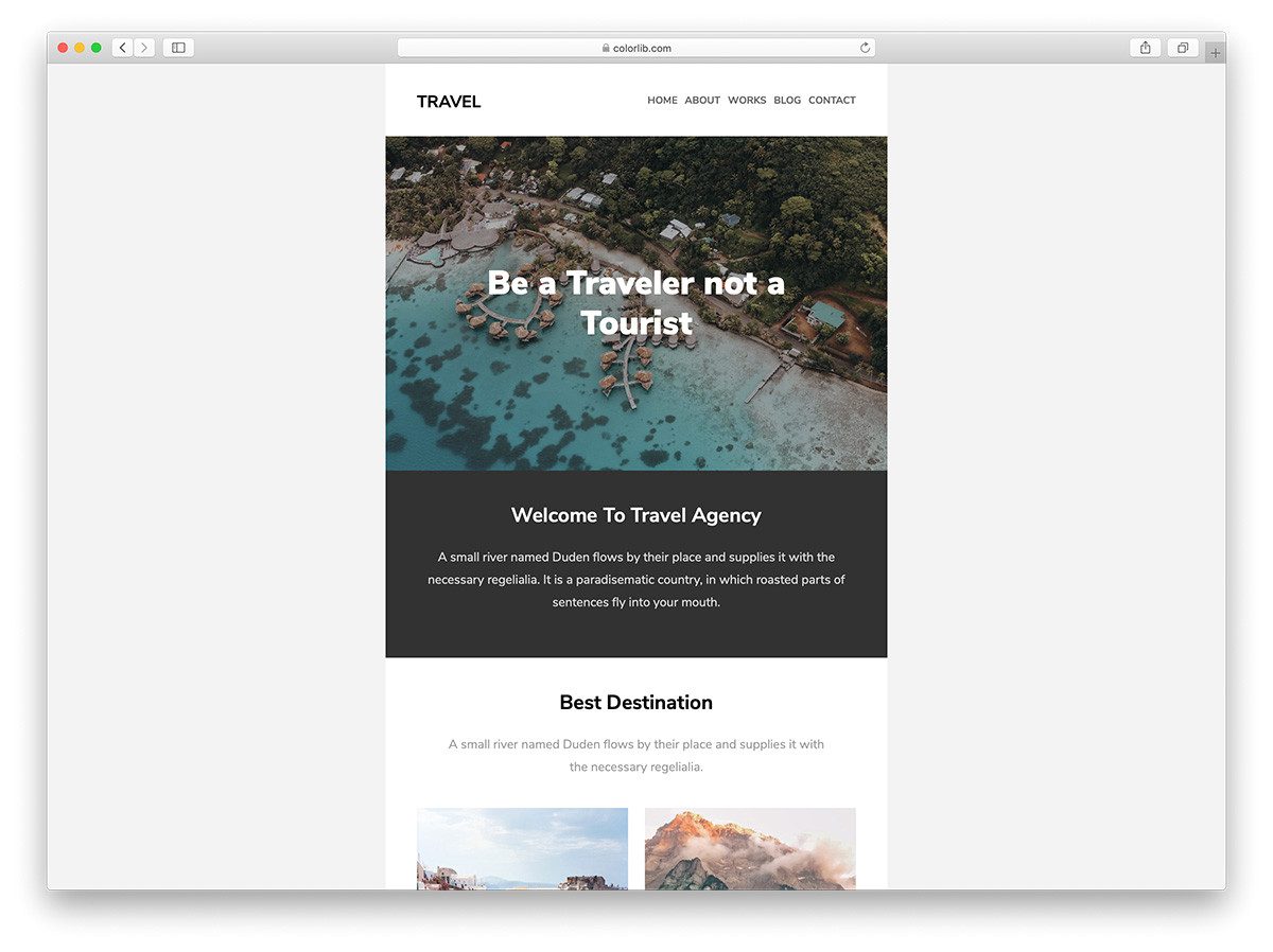free mailchimp email templates