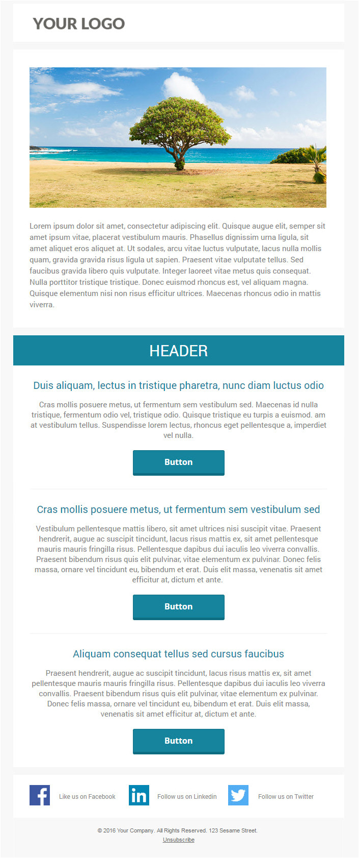 Marketo Responsive Email Templates 6 Free Responsive Marketo Email Templates