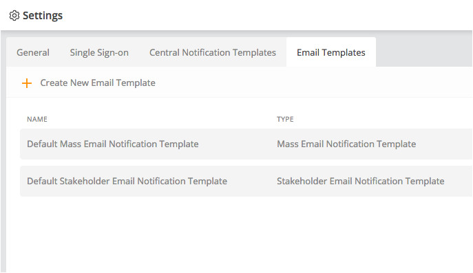 email templates for mass notifications