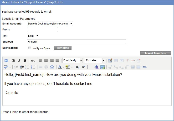 Mass Email Template How to Send A Mass Email Ivinex Training