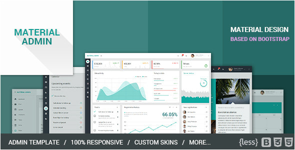 material design html5 templates free download