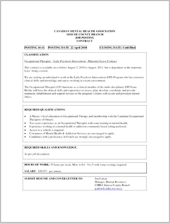 Maternity Leave Contract Template 9 Maternity Leave Contract Template Roryr Templatesz234