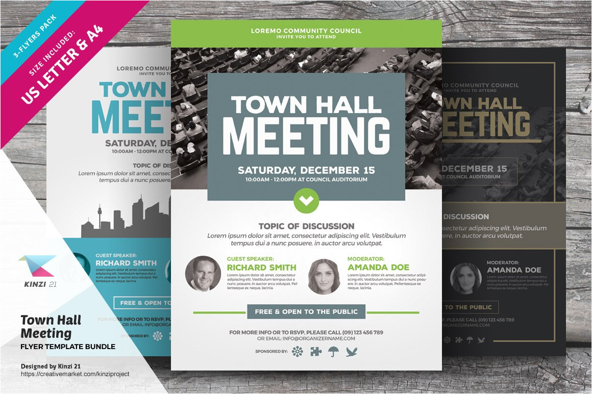 1277428 town hall meeting flyer templates