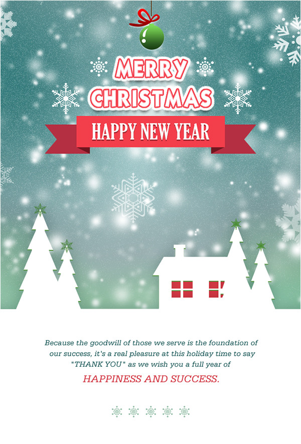create merry christmas email template for send wishes t