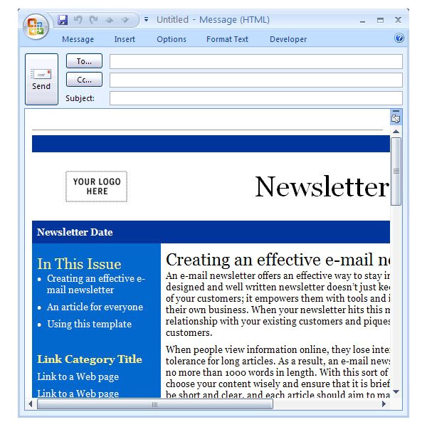 Microsoft Office Email Newsletter Templates Downloading the Best Free Artist Templates for Cool Office