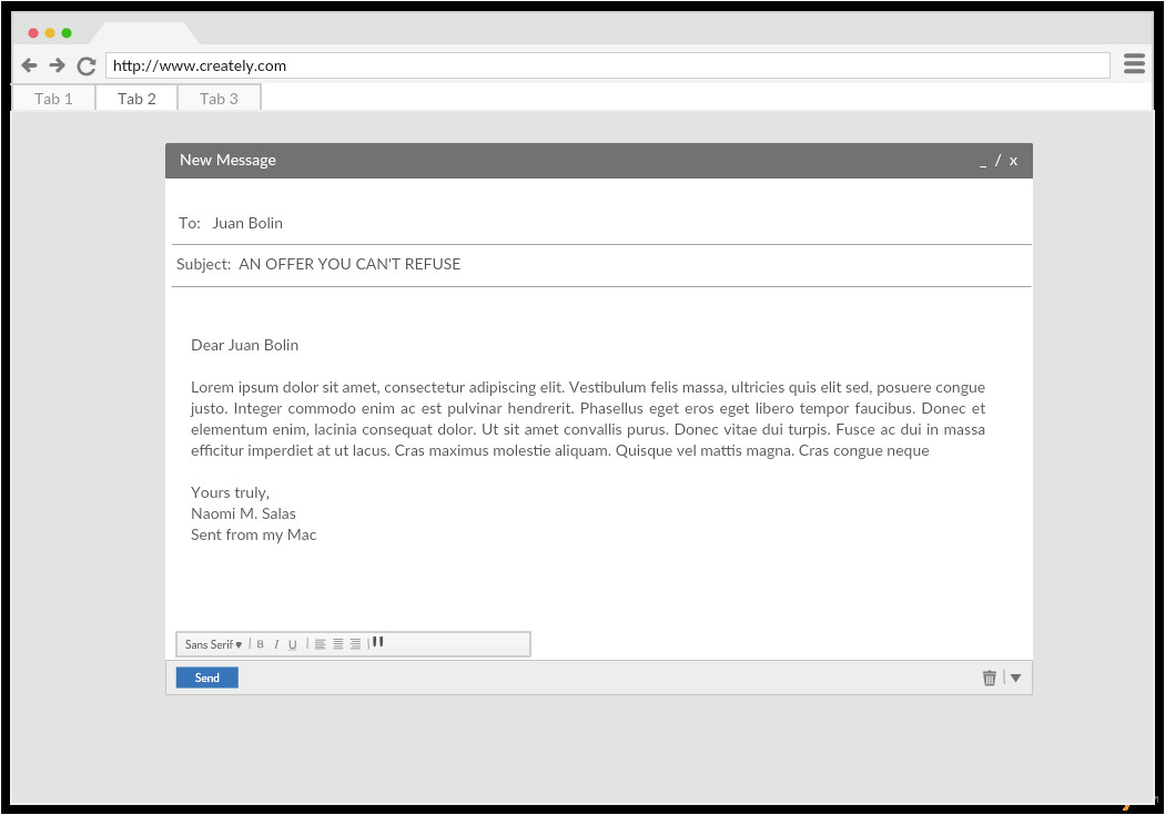 Mock Email Template Ui Mock Up Templates to Create Unique User Interfaces