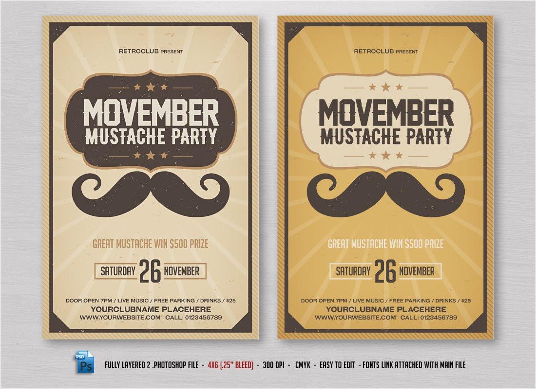 944312 movember mustache flyer