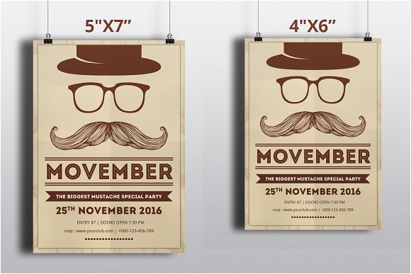 1030271 movember party flyer template v428
