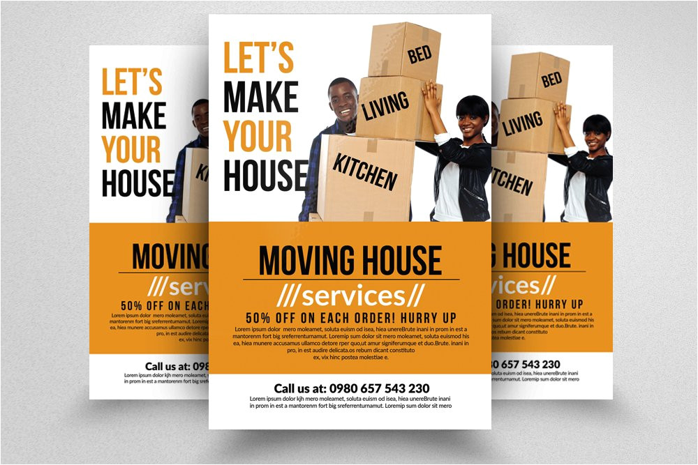 624651 moving house services flyers