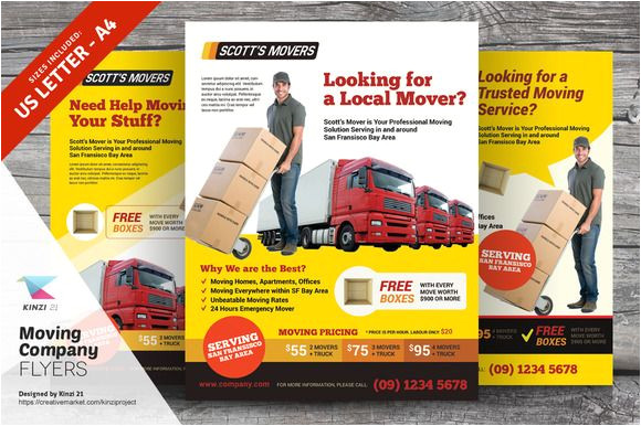 Moving Flyers Templates Free Moving Company Flyer Templates Flyer Template Flyers