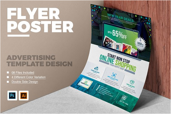 product flyer design template