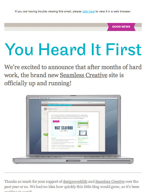 design and build an email newsletter without losing your mind