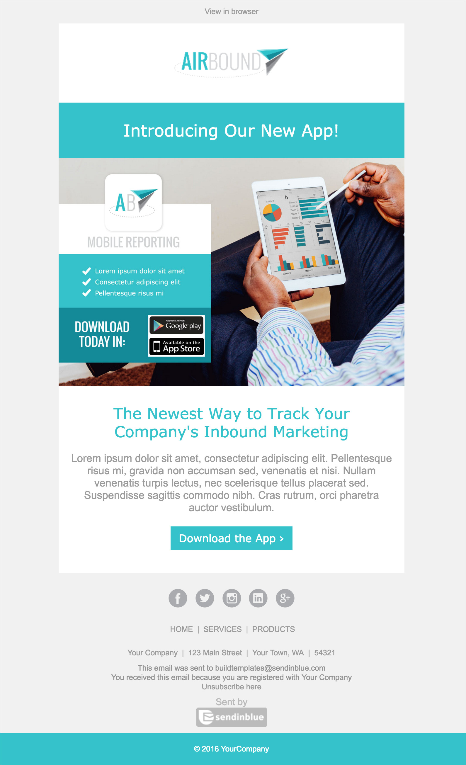 New Website Announcement Email Template top 8 B2b Email Templates for Marketers In 2017
