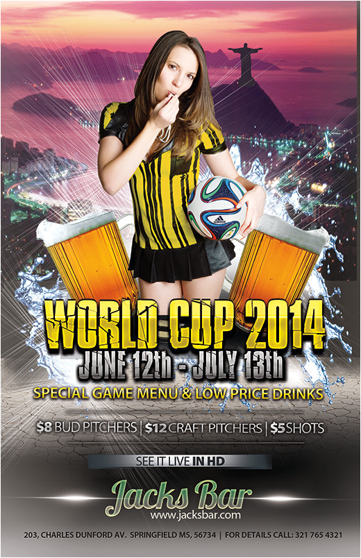 world cup flyer templates make your own postcard