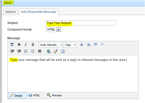 no longer with the company auto reply template