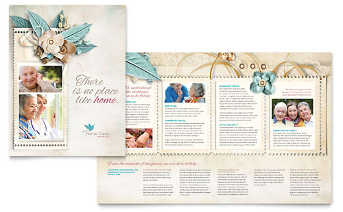 elder care nursing home brochure templates md0110101d