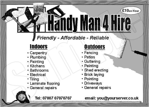 graphic design handyman