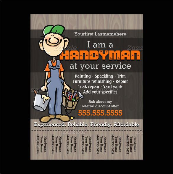 odd jobs flyer templates 15 best handyman flyer templates designs free premium templates templates