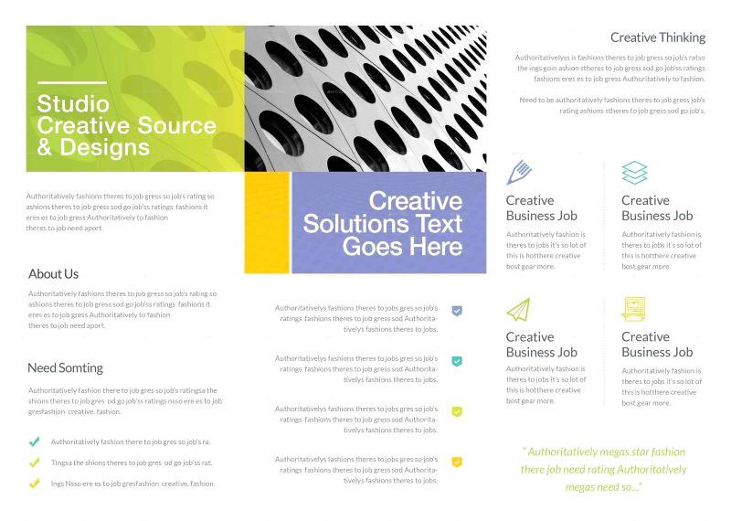 odd jobs flyer templates