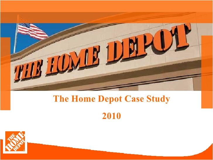 home depot class presentation