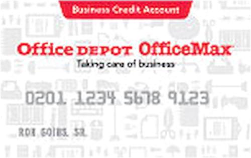 office depot business credit card 628c