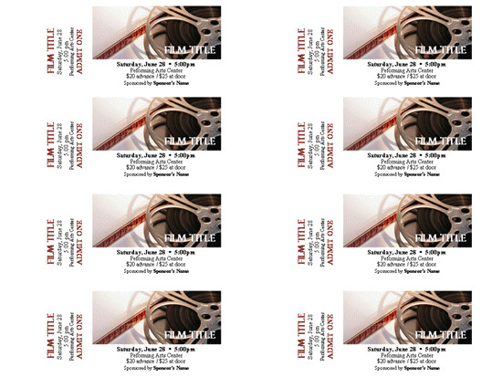 sports event tickets templates ticket printing