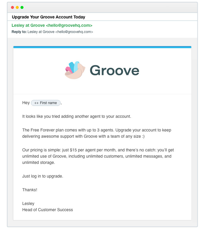 customer onboarding email templates