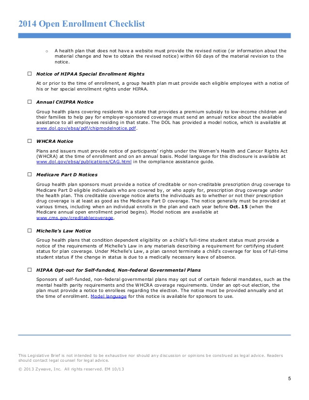 open enrollment checklist 30135002