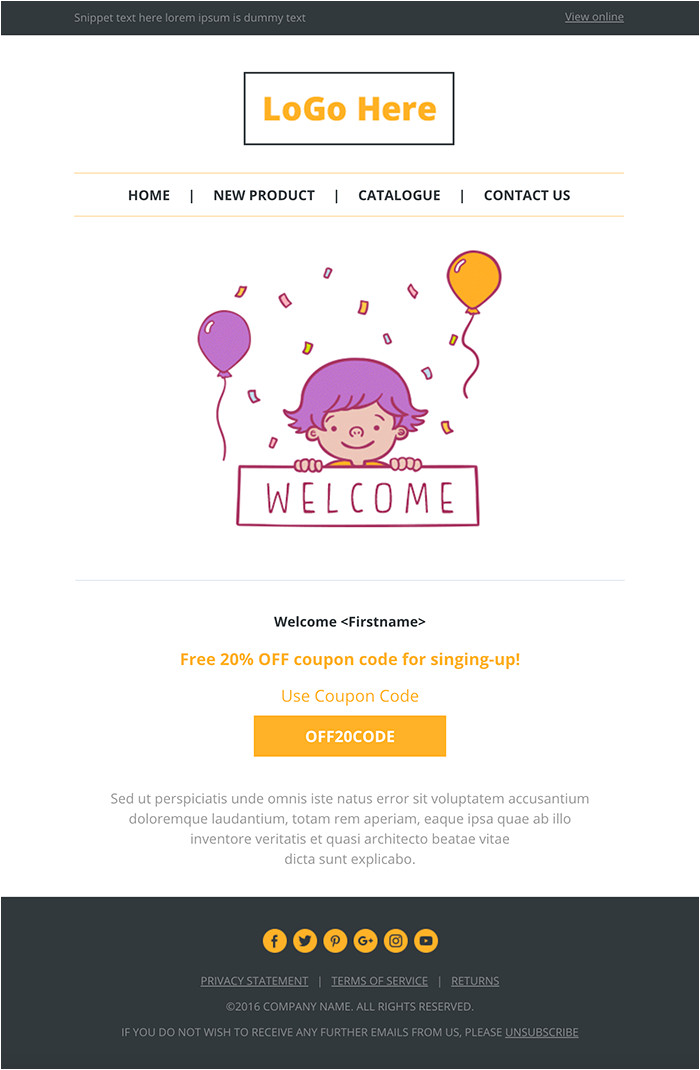 top 20 best responsive and open source html email and newsletter templates