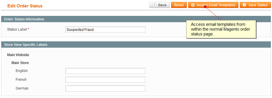 magento order status email templates