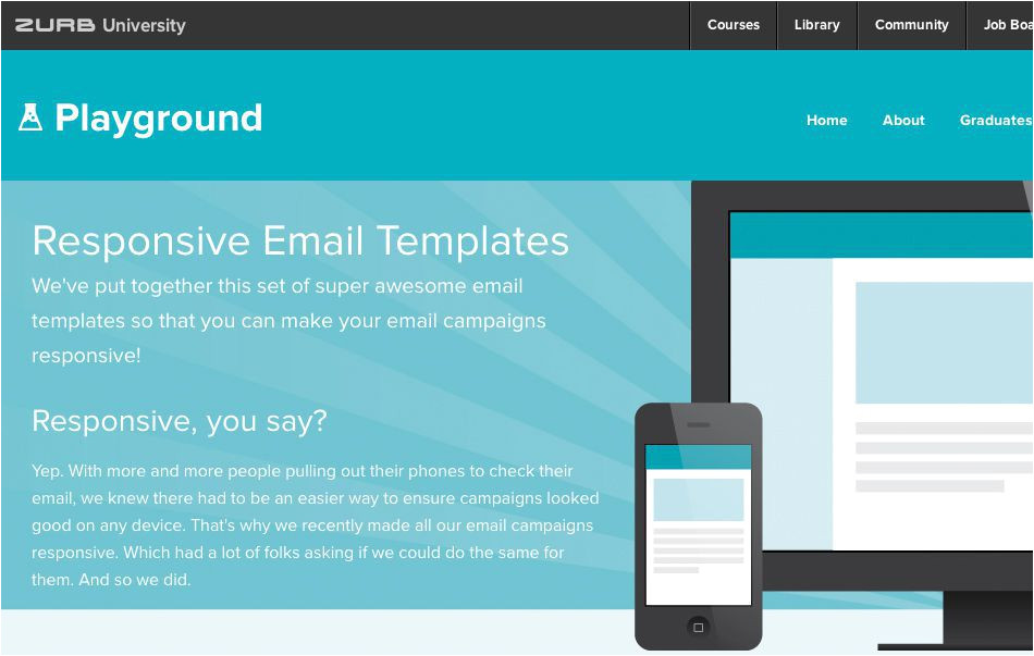 email responsive design