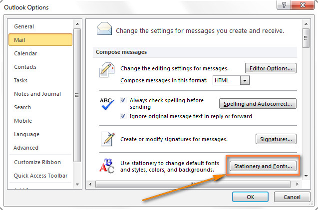Outlook Email Stationery Templates Create Email Templates In Outlook 2016 2013 for New