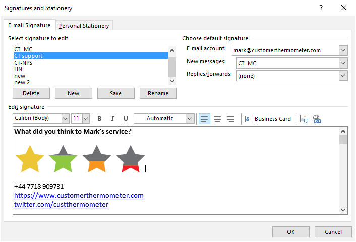 designing surveys for microsoft outlook