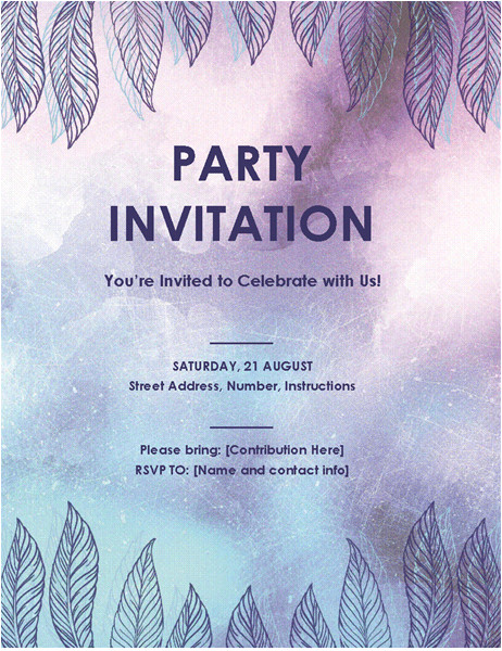 party invitation flyer tm03978815
