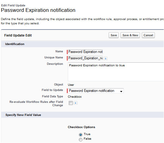 email notification on password expiration