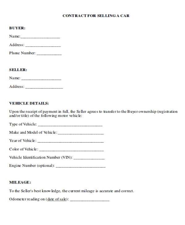 payment contract templates