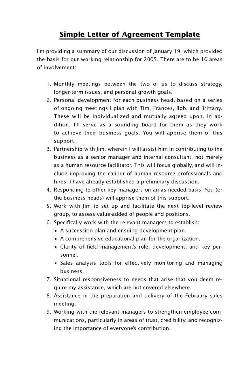 Personal Relationship Contract Template 6 Personal Relationship Contract Template oraer