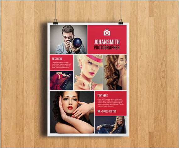Photoshop Elements Flyer Templates Professional Photography Flyer Template Elegant by
