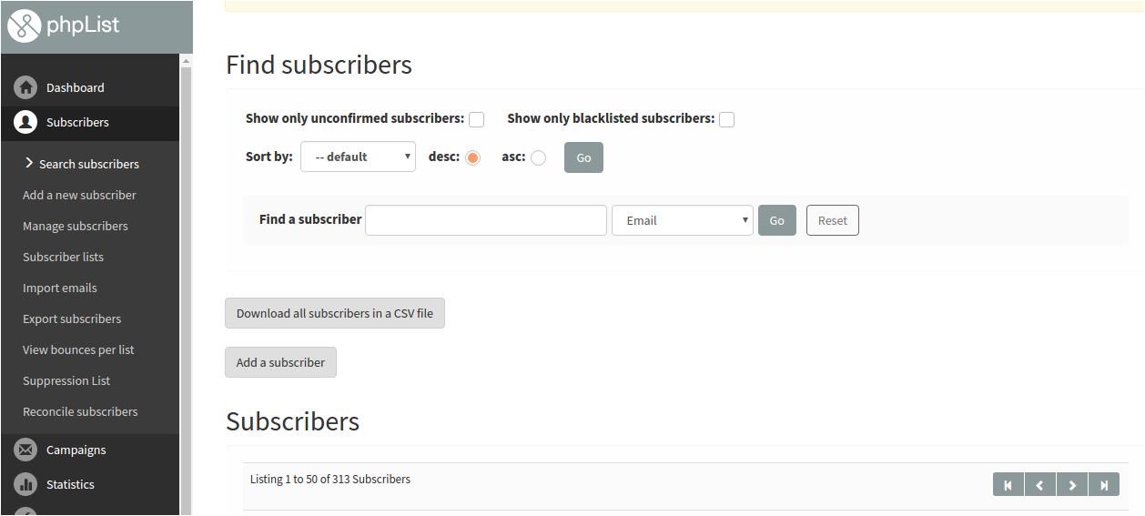 mailchimp alternatives open source