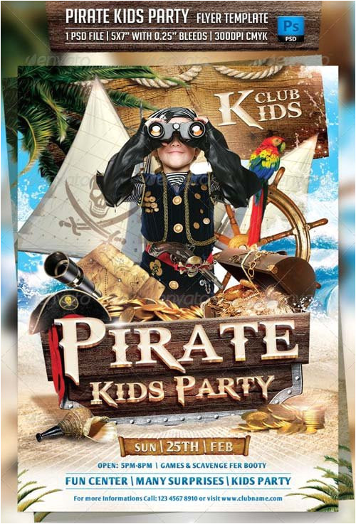 2492 graphicriver pirate kids party flyer template 6913284