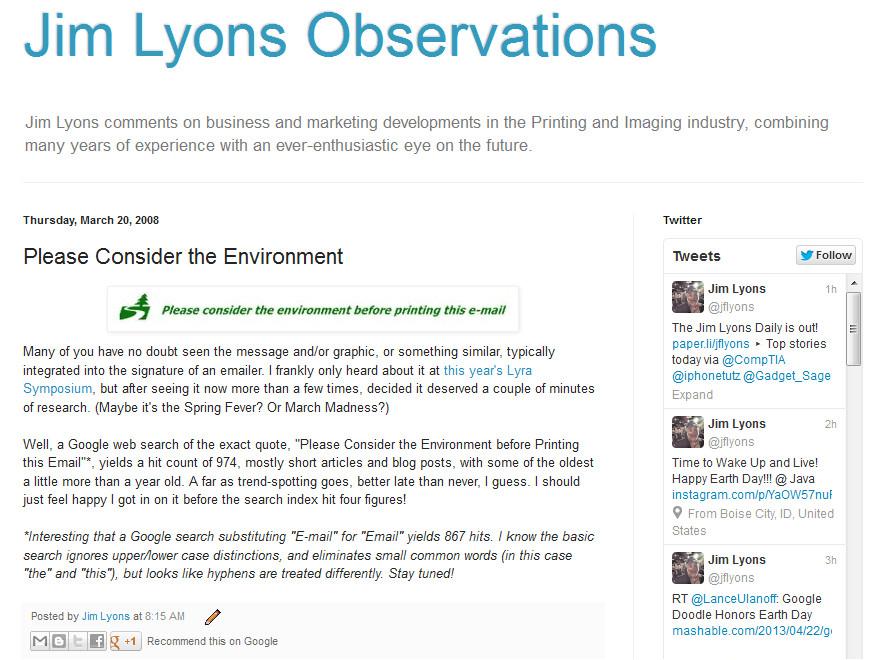 april 2013 observations please consider