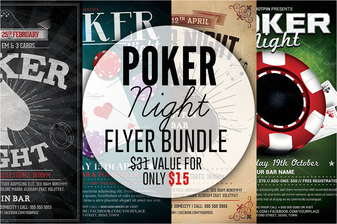 1793751 poker night flyer template bundle