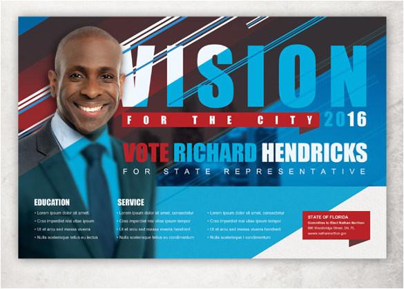 political postcard