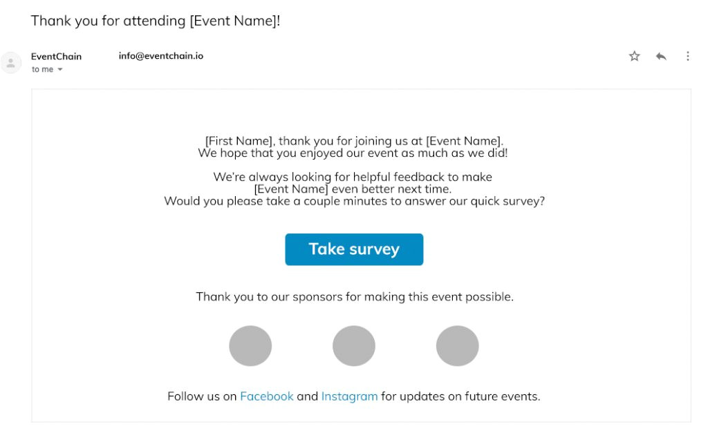 email templates for marketing your next event