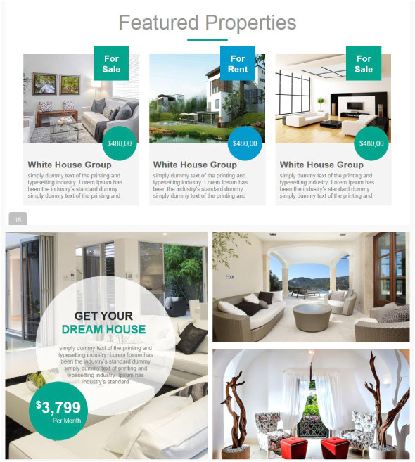 20 cool real estate powerpoint templates