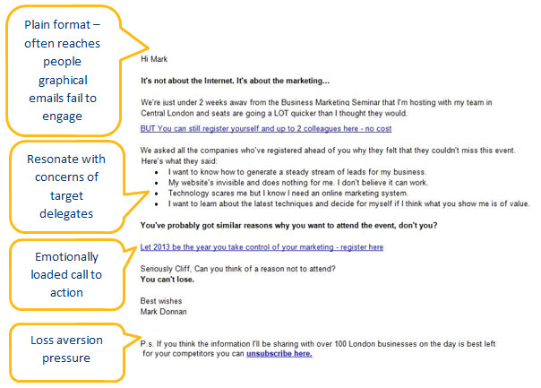 webinar event email invitation examples planning