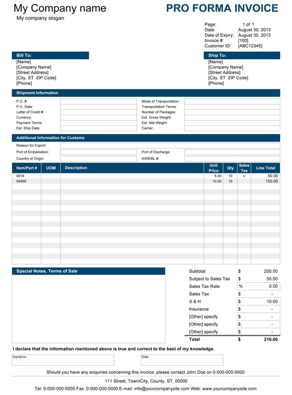 Pro forma Contract Template Pro forma Invoice Small Business Pinterest Apple 39 S